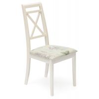 Стул с мягким сиденьем «Пикассо» (Picasso) (Слоновая кость)