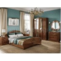 Спальня Мария МДФ кедр глянец