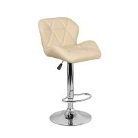 Барный стул Алмаз WX-2582 экокожа, бежевый