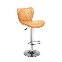 Барный стул Кадиллак WX-005 экокожа, светло-коричневый