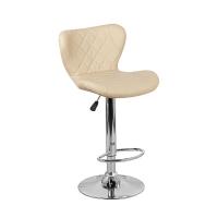 Барный стул Кадиллак WX-005 экокожа, бежевый