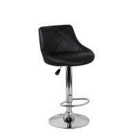 Барный стул Комфорт WX-2396 экокожа, черный