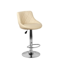 Барный стул Комфорт WX-2396 экокожа, бежевый