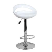 Барный стул Диско WX-2001 пластик, белый