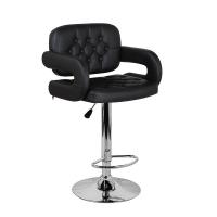 Барный стул Тиесто WX-2927 экокожа, черный