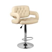 Барный стул Тиесто WX-2927 экокожа, бежевый