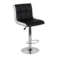 Барный стул Олимп WX-2318B экокожа, черный
