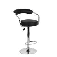 Барный стул Орион WX-1152 экокожа, черный