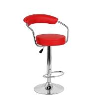 Барный стул Орион WX-1152 экокожа, красный