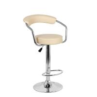 Барный стул Орион WX-1152 экокожа, бежевый