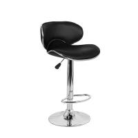 Барный стул Сатурн WX-2356 экокожа, черный