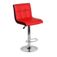 Барный стул Олимп WX-2318B экокожа, красный