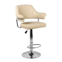 Барный стул Касл WX-2916 экокожа, бежевый