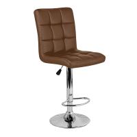 Барный стул Крюгер WX-2516 экокожа, коричневый