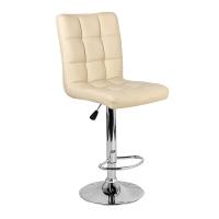 Барный стул Крюгер WX-2516 экокожа, бежевый