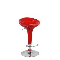 Барный стул Бомба D-18, красный