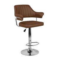 Барный стул Касл WX-2916 экокожа, коричневый