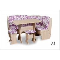 Кухонный уголок Орхидея Автор (ясень/А1)