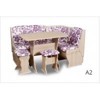 Кухонный уголок Орхидея Автор (ясень/А2)