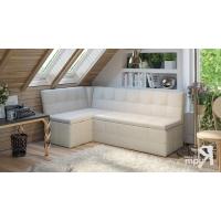 Кухонный диван угловой Домино (Кашемир крем)