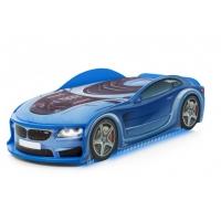 Кровать-машина UNO БМВ-М синий