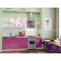Кухонный гарнитур Вишневый цвет МДФ 2,0