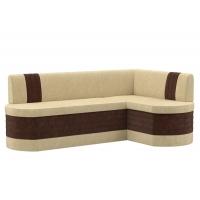 Кухонный диван угловой Токио (вельвет люкс)