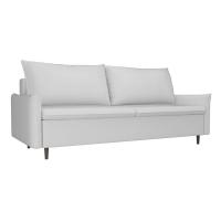 Прямой диван Хьюстон белый экокожа
