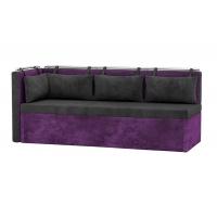 Кухонный диван с углом Метро (вельвет люкс)