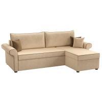 Угловой диван Милфорд (вельвет бежевый)