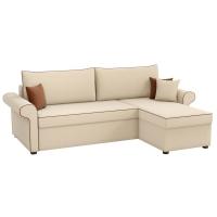 Угловой диван Милфорд (рогожка бежевый)