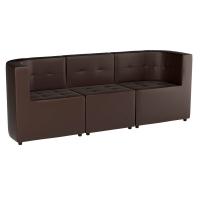 Модульный диван комплект Домино (экокожа)