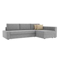 Угловой диван Версаль (рогожка серый/бежевый)