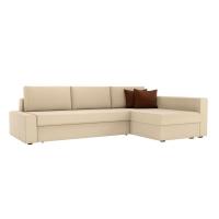 Угловой диван Версаль (рогожка бежевый)
