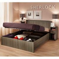 Кровать 1400 с подъемным механизмом 43.2 Sherlock (ясень анкор)