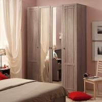 Шкаф для одежды и белья 60 Sherlock (ясень анкор)
