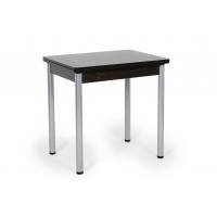 Стол обеденный Ирис поворотно-раскладной (венге)