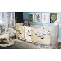 Детская кровать Минима Лего 1860 (Кремовый)