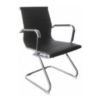 Кресло для посетителей Jarick Black