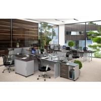 Комплект офисной мебели Offix New К2 Легно