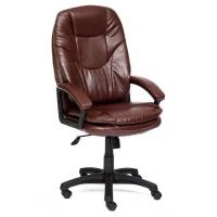 Кресло COMFORT кож/зам, коричневый, 2 TONE