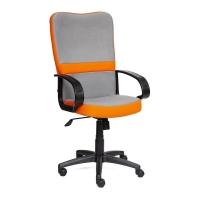 Кресло СН757 ткань, серый/оранжевый, С27/С23