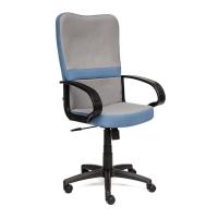 Кресло СН757 ткань, серый/синий, С27/С24