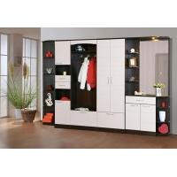 Комплект мебели для прихожей №1 София (белый дым)