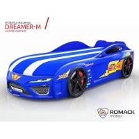Кровать машина Romack Dreamer-M Синяя молния
