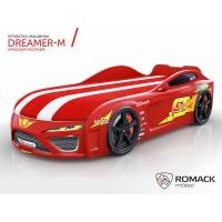 Кровать машина Romack Dreamer-M Красная молния