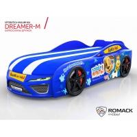 Кровать машина Romack Dreamer-M Барбоскины Дружок синий