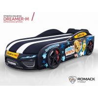 Кровать машина Romack Dreamer-M Барбоскины Дружок черный