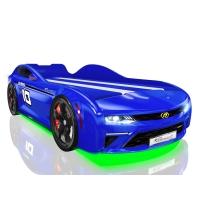 Кровать машина Romack Energy синий