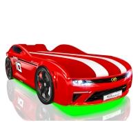 Кровать машина Romack Energy-M красный